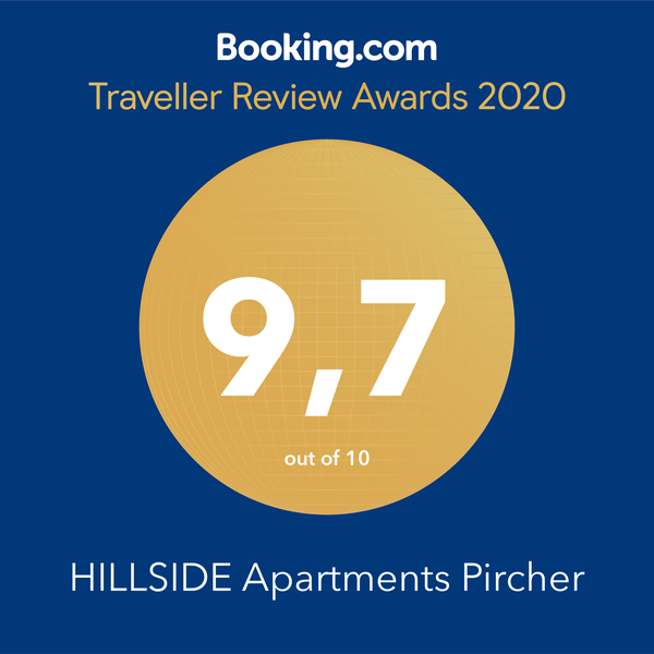 Booking Traveller-Review-Award - Auszeichnung Apartment Hillside in Fügen im Zillertal
